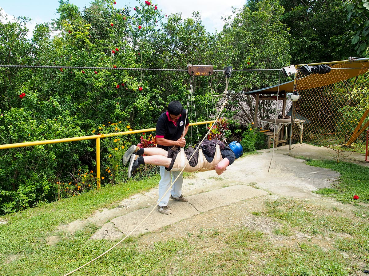 Zip-Line in Bohol