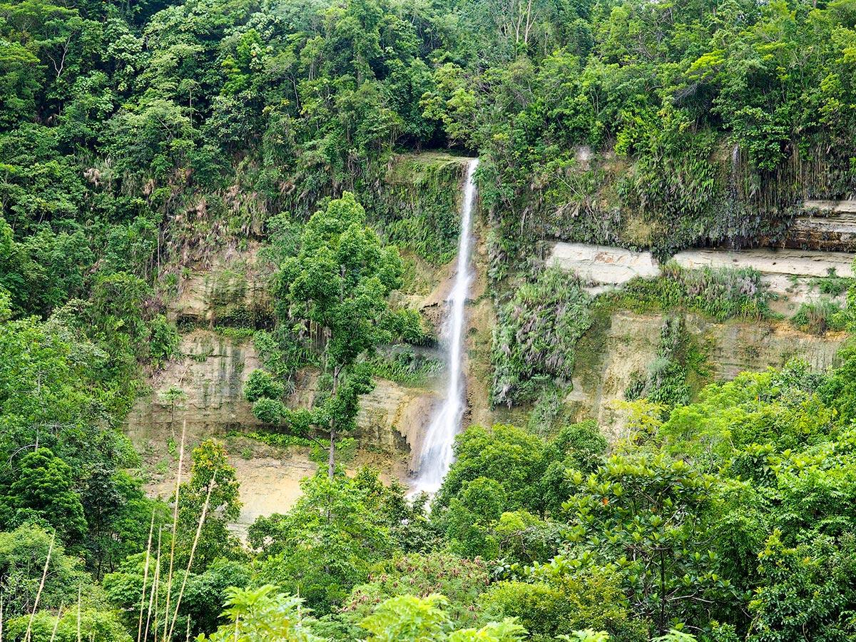 Can-Umantad falls, Blick von oben