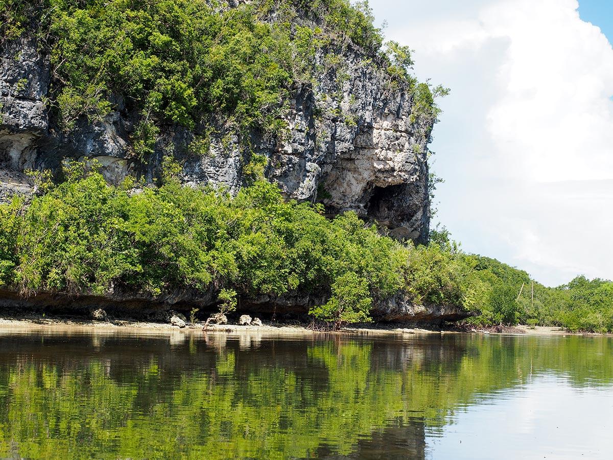 Überfahrt auf Lamanok Island