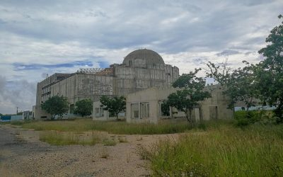 Atomkraftwerk Juraguá nahe Cienfuegos