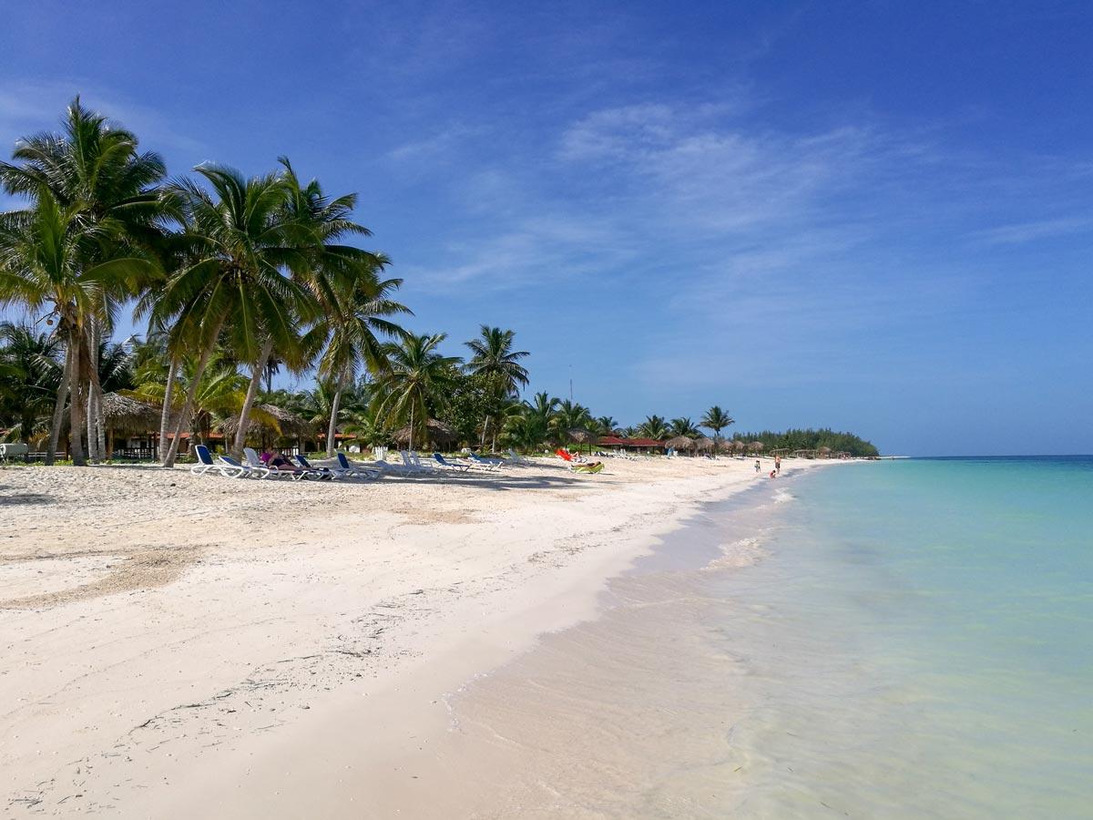 Strand in Cayo Levisa