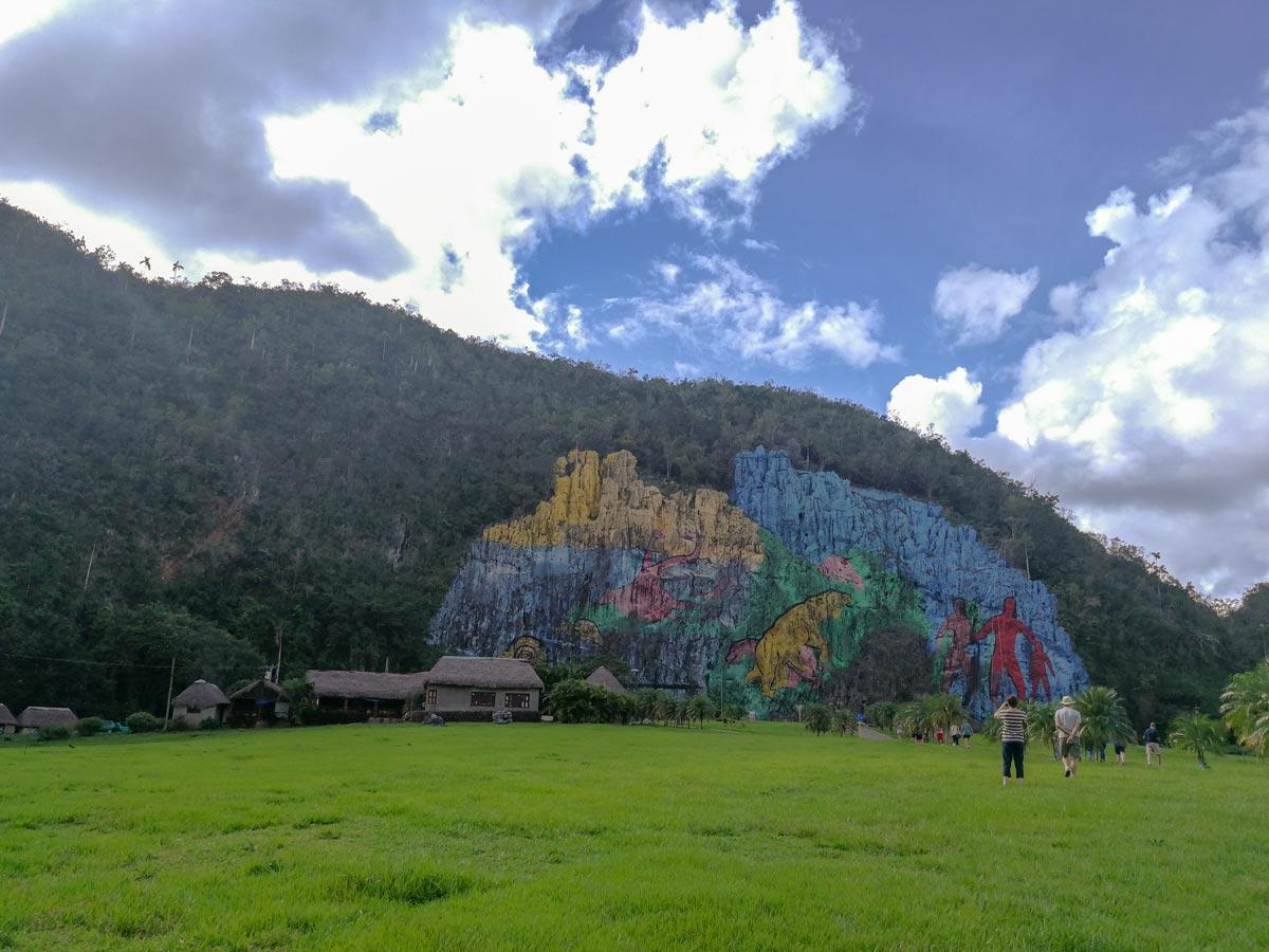 Felsmalerei Mural de-la Prehistoria