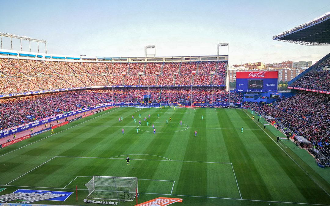 Estadio Vicente Calderón Fußballtrip