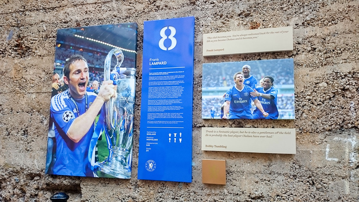 Frank Lampard Hall of Fame