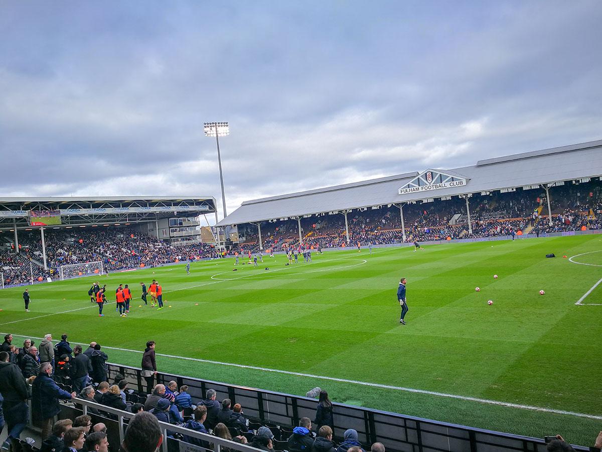 FC Fulham Fußballreise