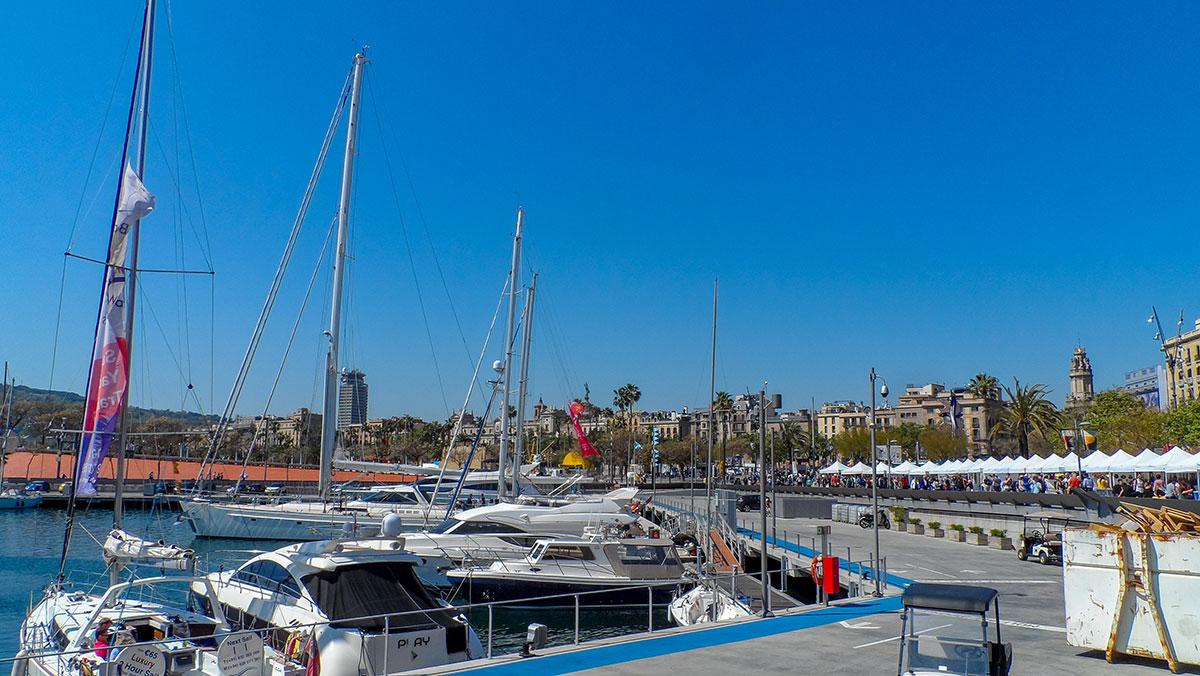 La Barceloneta - Hafen