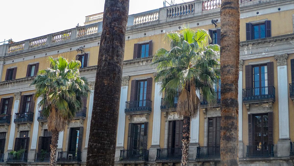 La Rambla - eine der Sehenswürdigkeiten in Barcelona