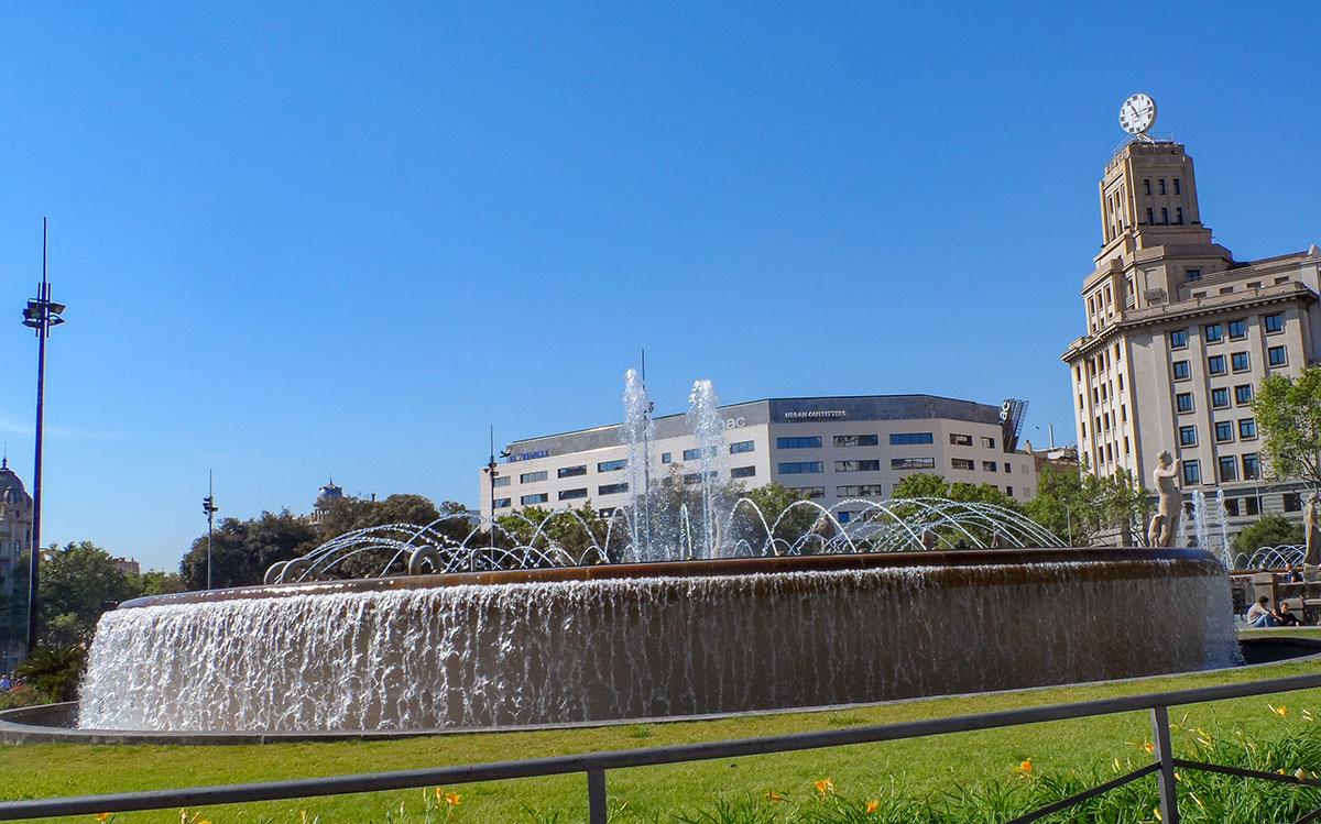 La Rambla Brunnen
