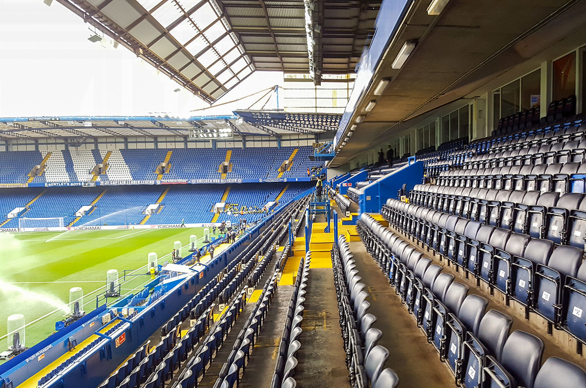 Stamford Bridge Tribüne