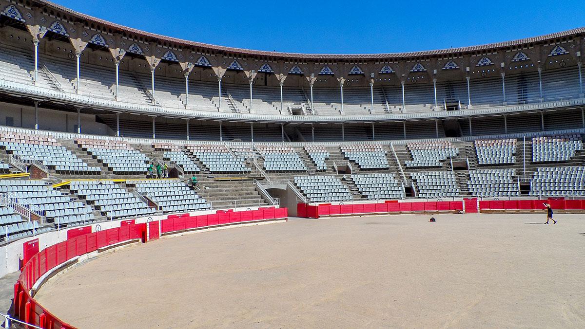 Stierkampfarena La Monumental in Barcelona