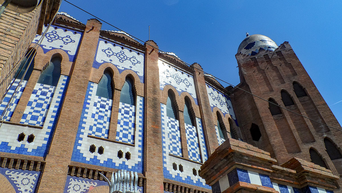 Sehenswürdigkeiten in Barcelona - Stierkampfarena La Monumental