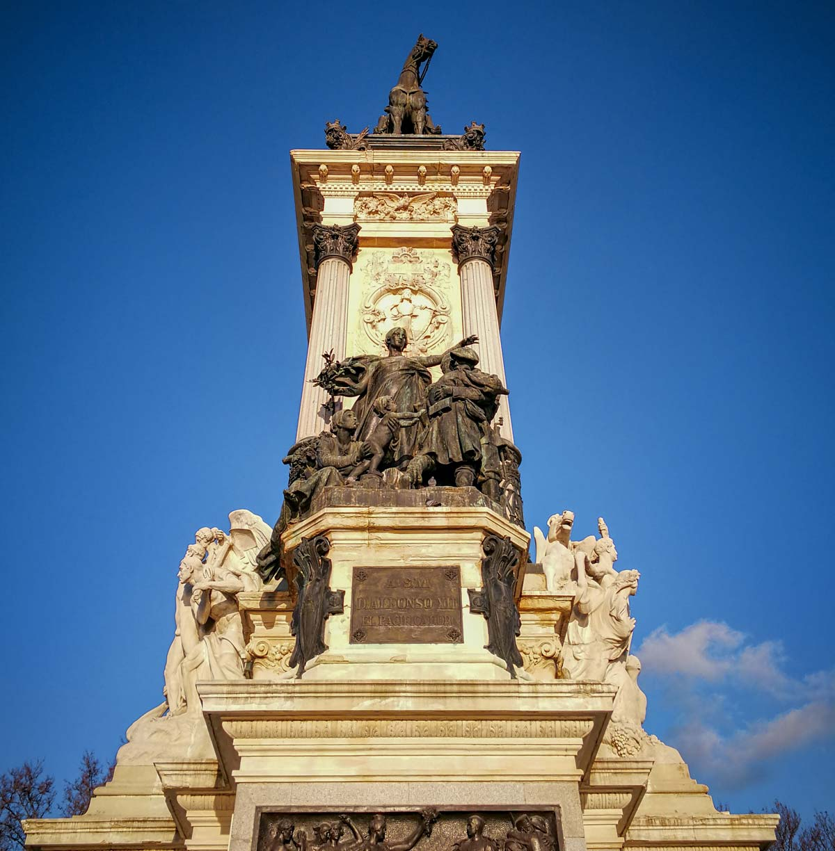 Monumento a Alfonso XII de España, Parque del Retiro
