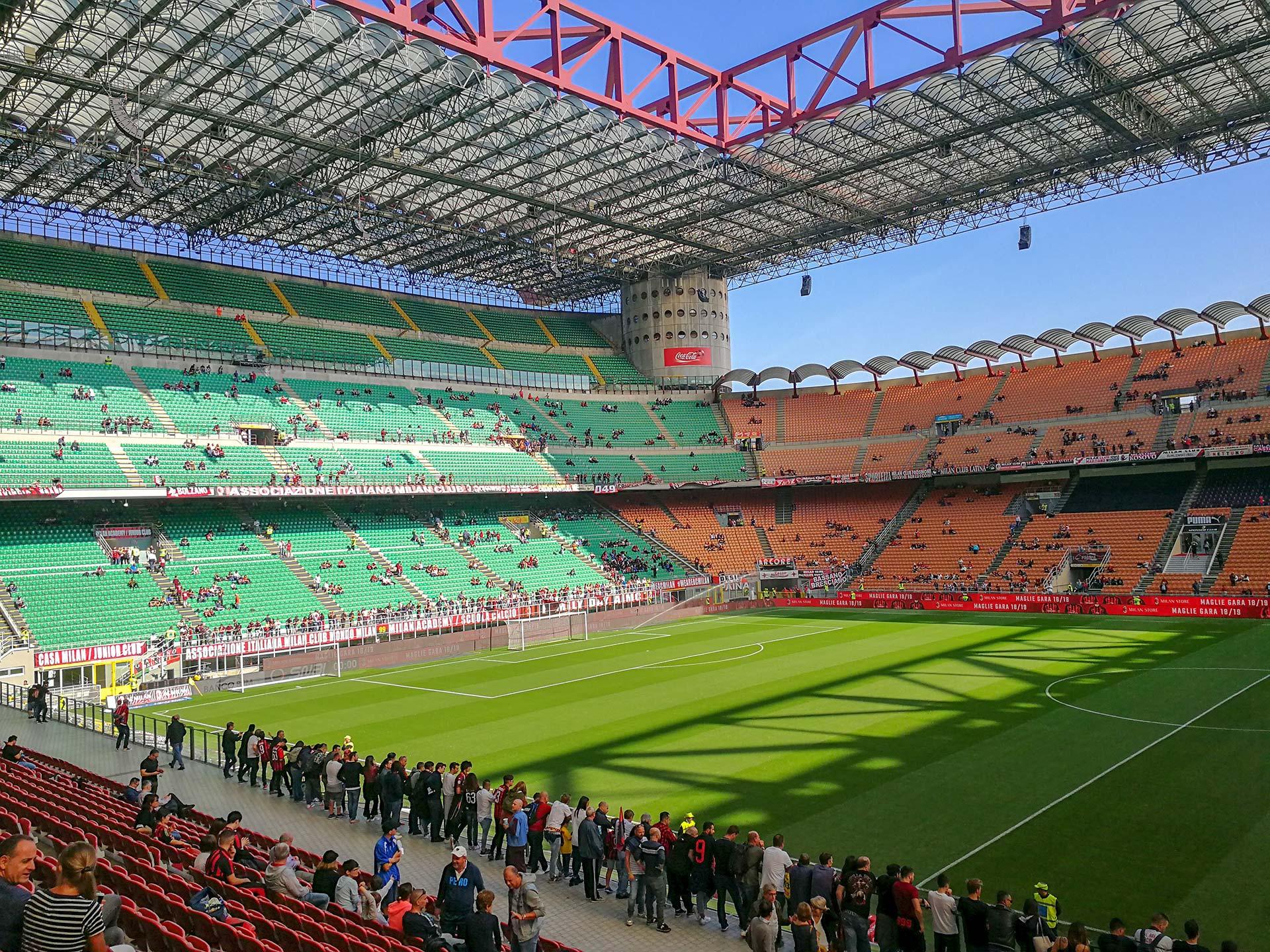 Inter und AC Mailand Stadion