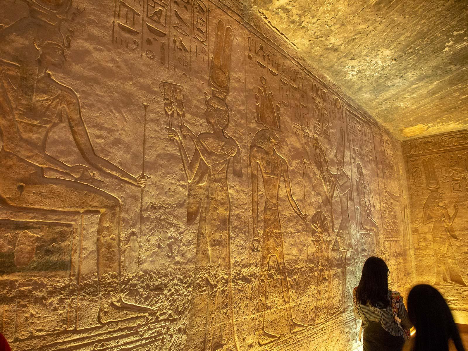 Abu Simbel innen