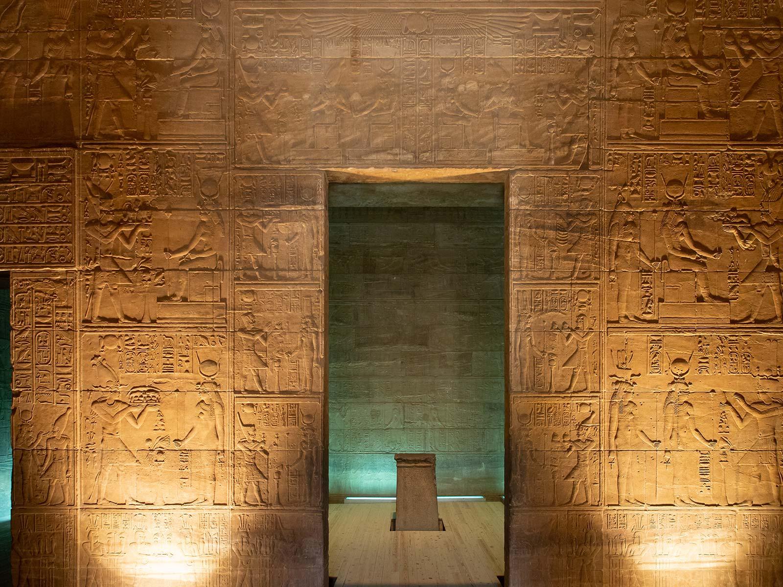 Philae Tempel innen