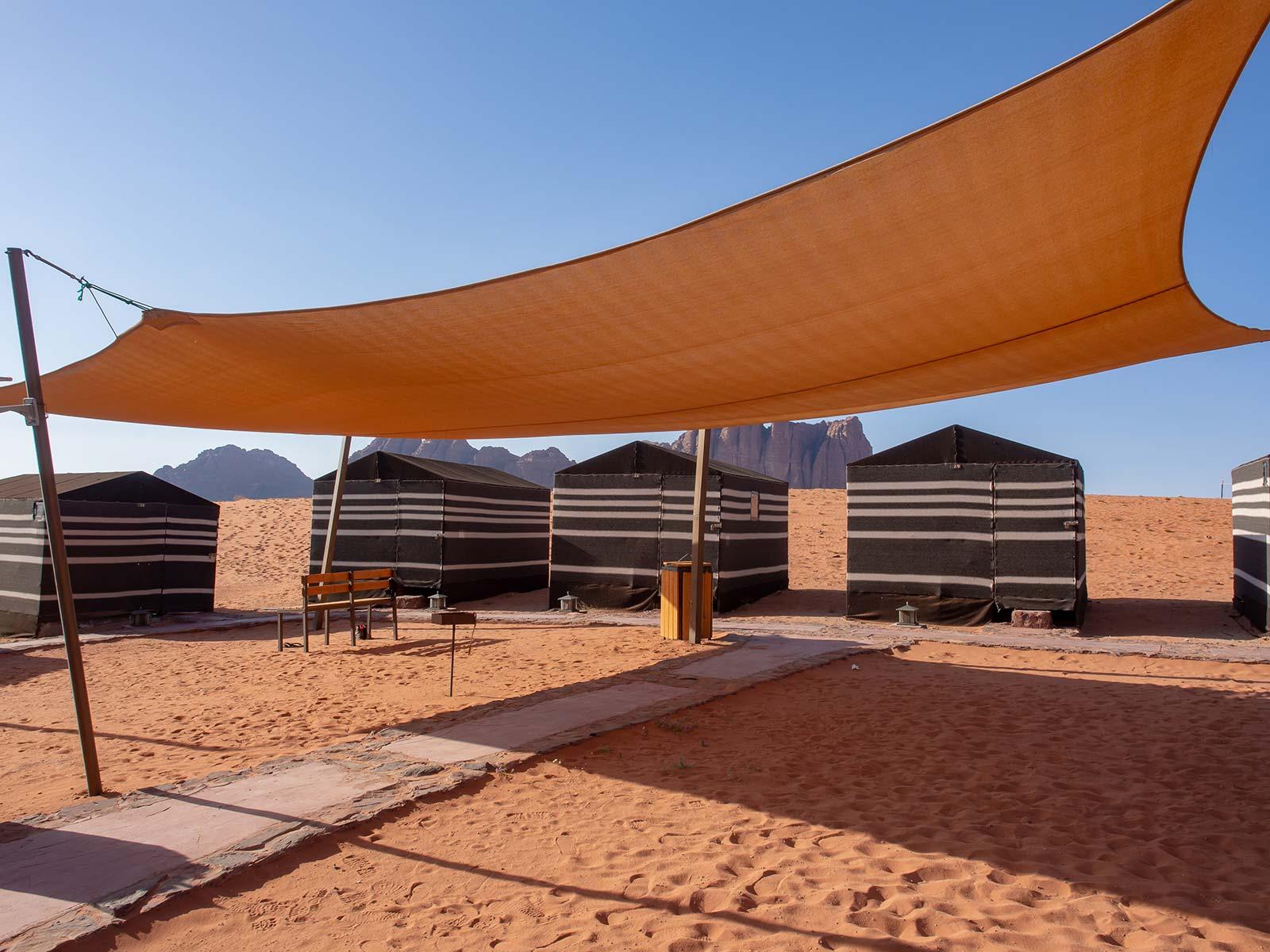 Beduinencamp in Wadi Rum