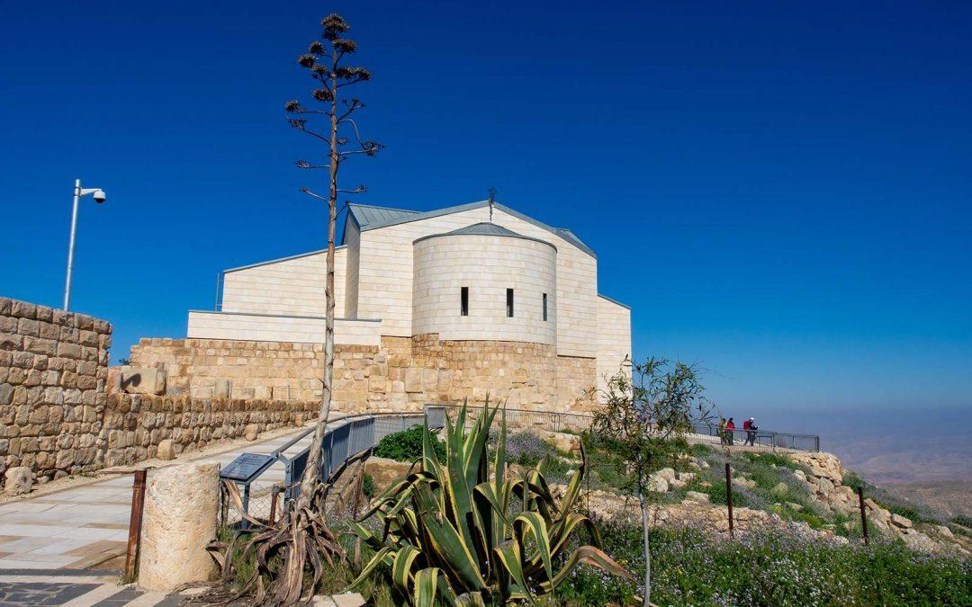 Berg Nebo mit Mose-Memorialkirche