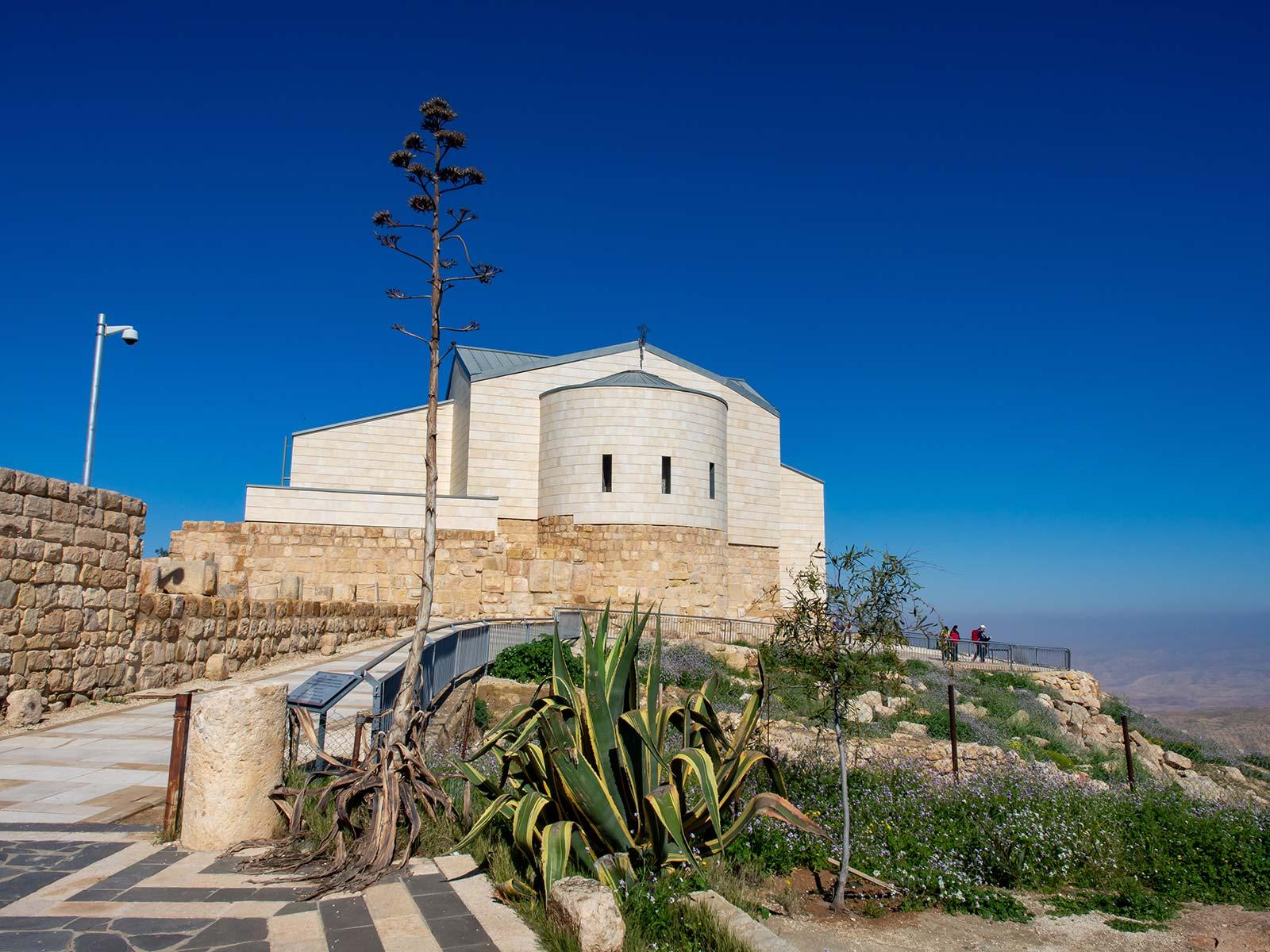 Berg Nebo Moses Gedächtniskirche