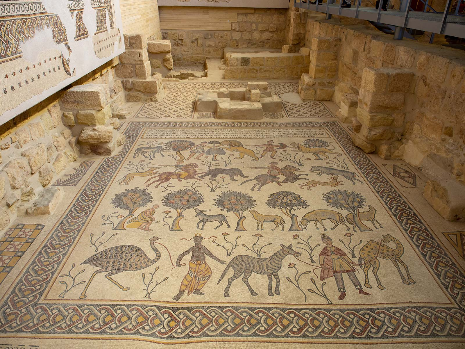 Berg Nebo Moses Gedächtniskirche Mosaik