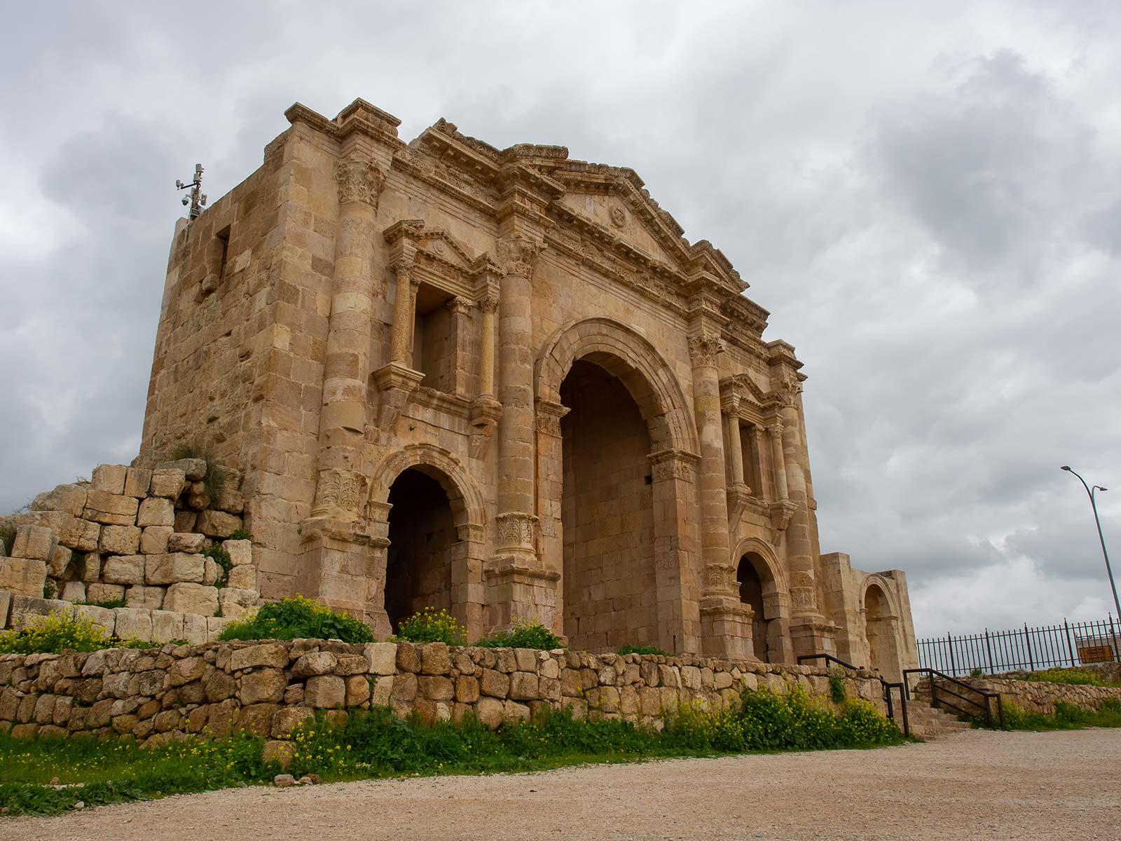 Jerash Hadriansbogen