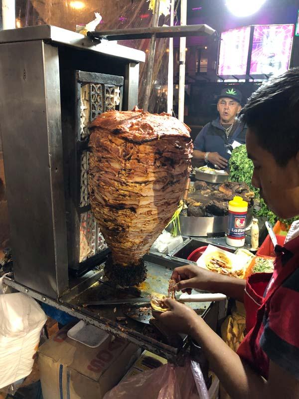Streetfood - Taco al Pastor in Mexiko