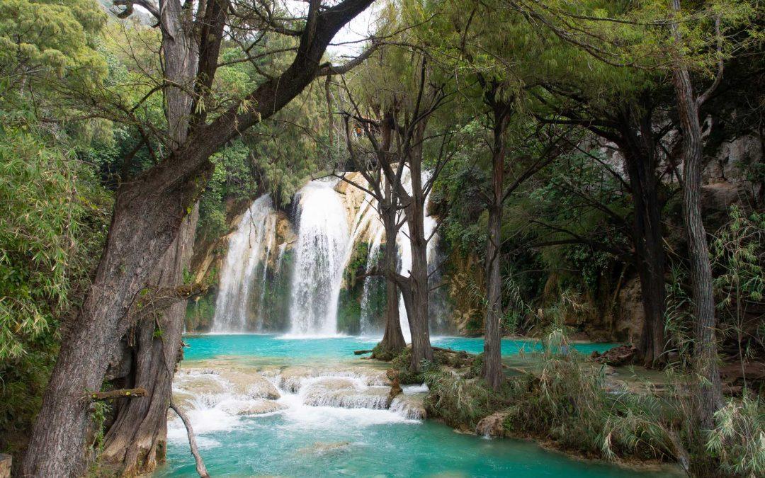 traumhafter Wasserfall El Chiflon