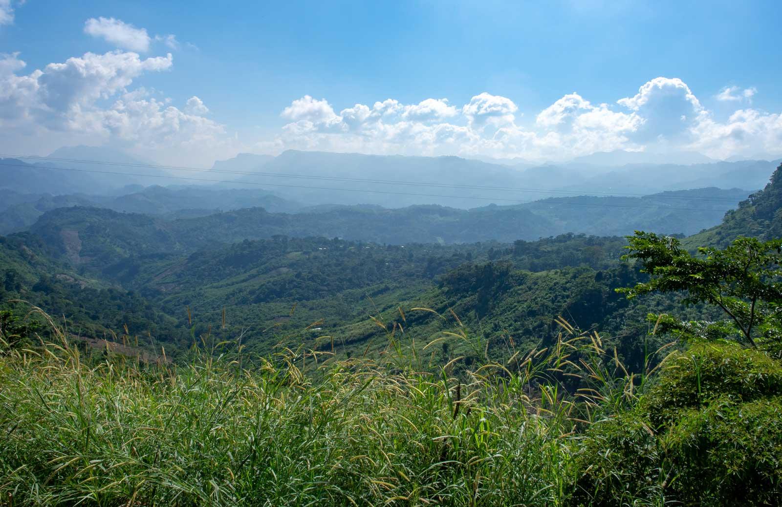 Ausblick über Chiapas