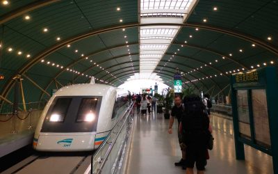Fortbewegung in China mit Zug, Taxi, Flugzeug und Fähre