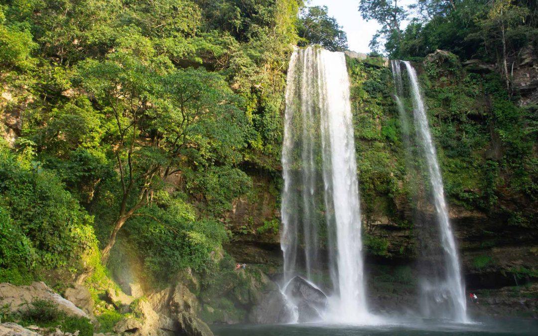 Misol-Ha Wasserfall