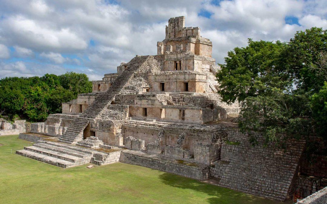 Palastpyramide Edzná