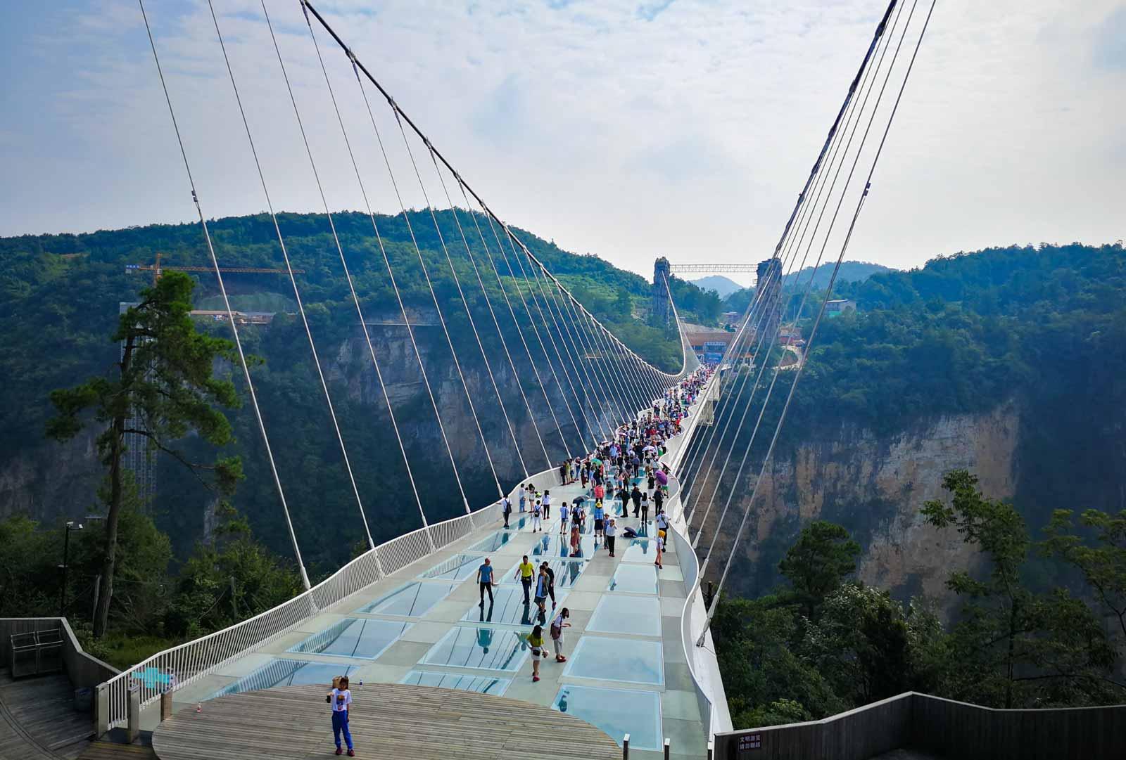 Zhangjiajie Glasbrücke
