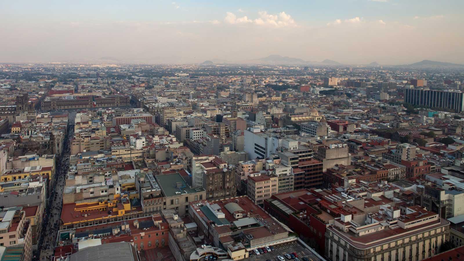 Ausblick vom Torre Latinoamericano