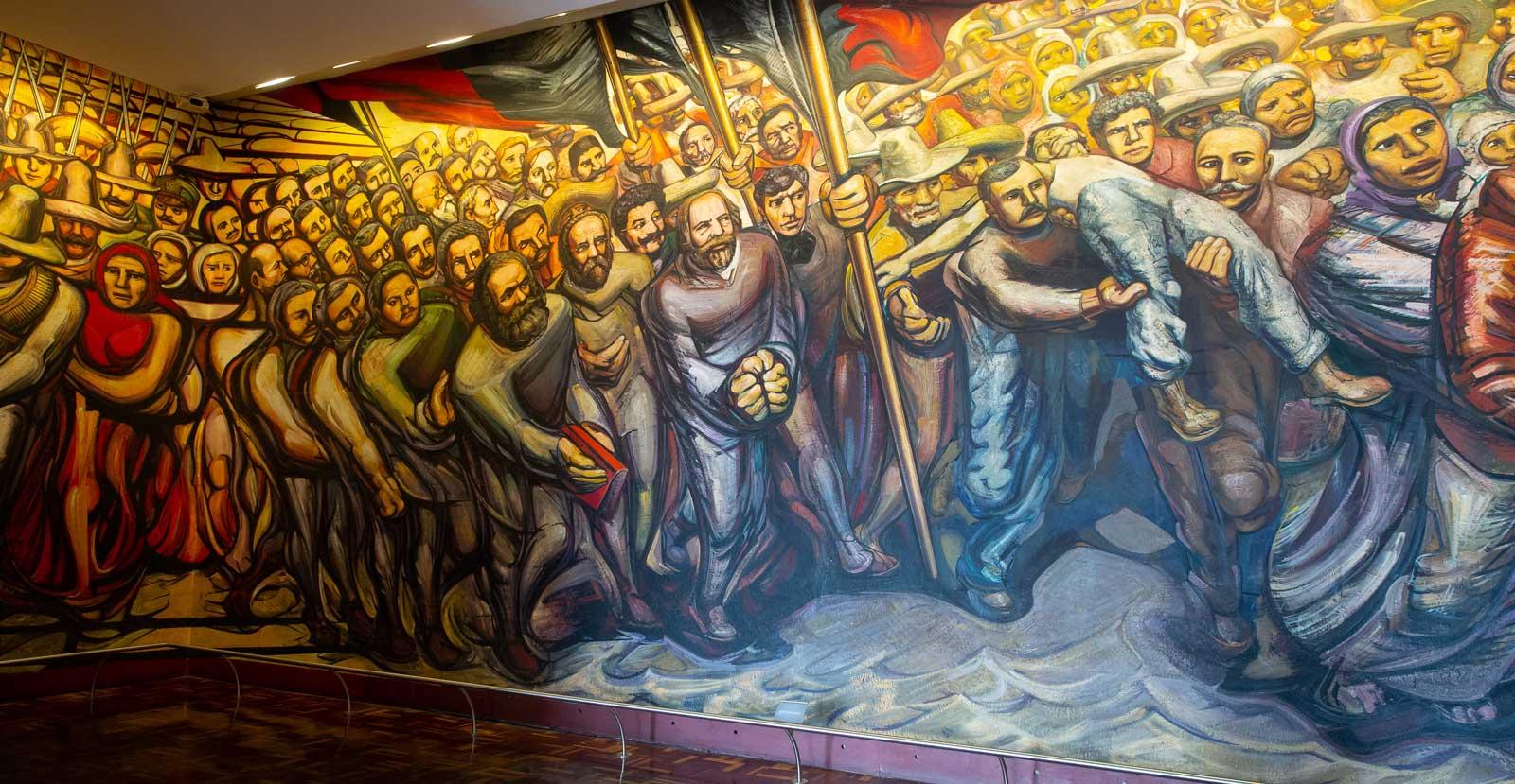 Gemälde im Schloss Chapultepec