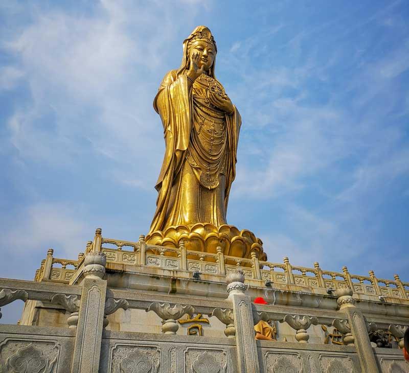 Guanyin Statue Putuo Shan