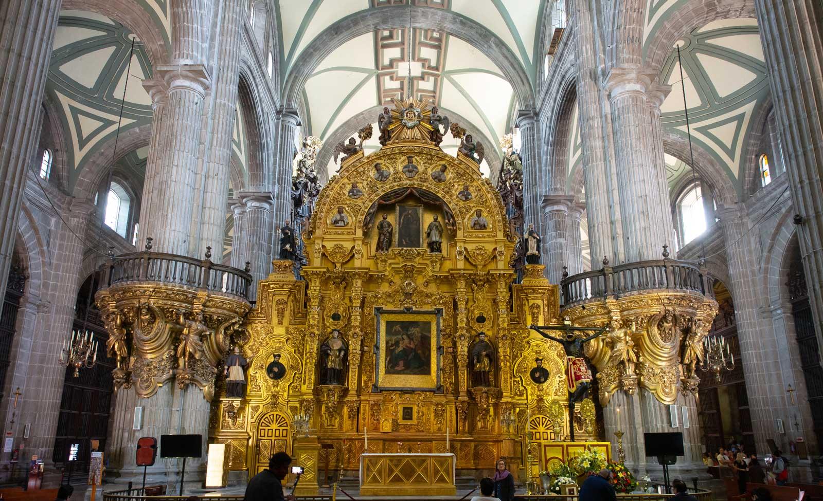 Kathedrale von Mexiko-Stadt - innen