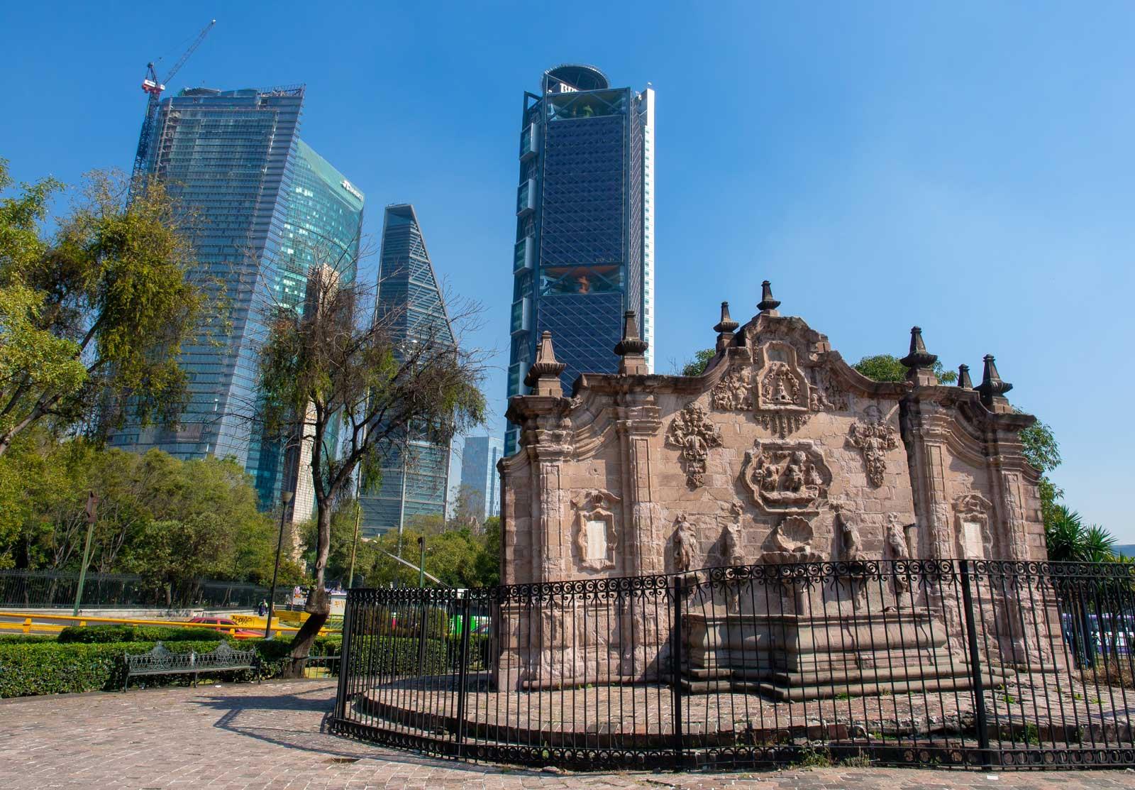 Mexiko-Stadt Skyline