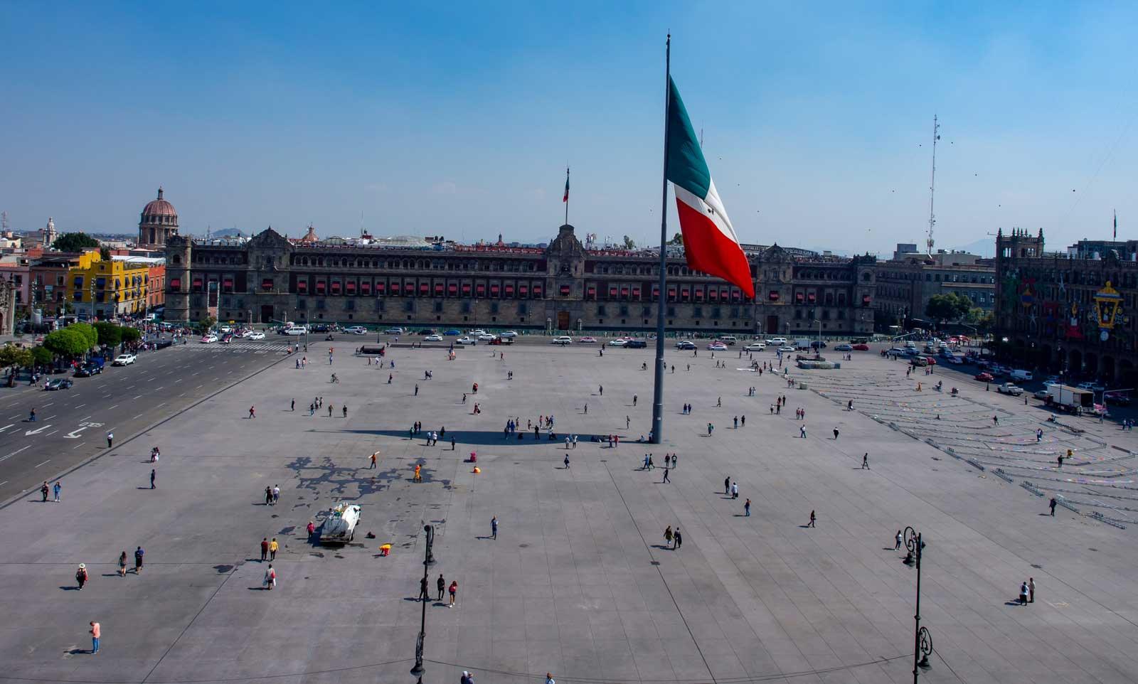 Mexiko-Stadt Zócalo