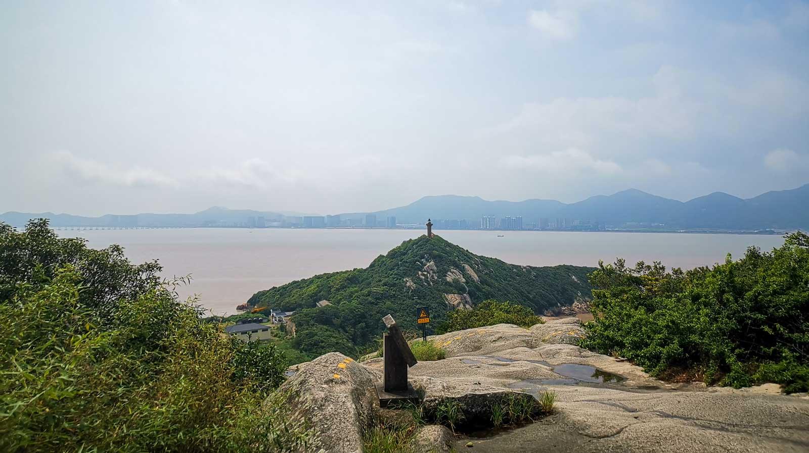 Mount Putuo Ausblick