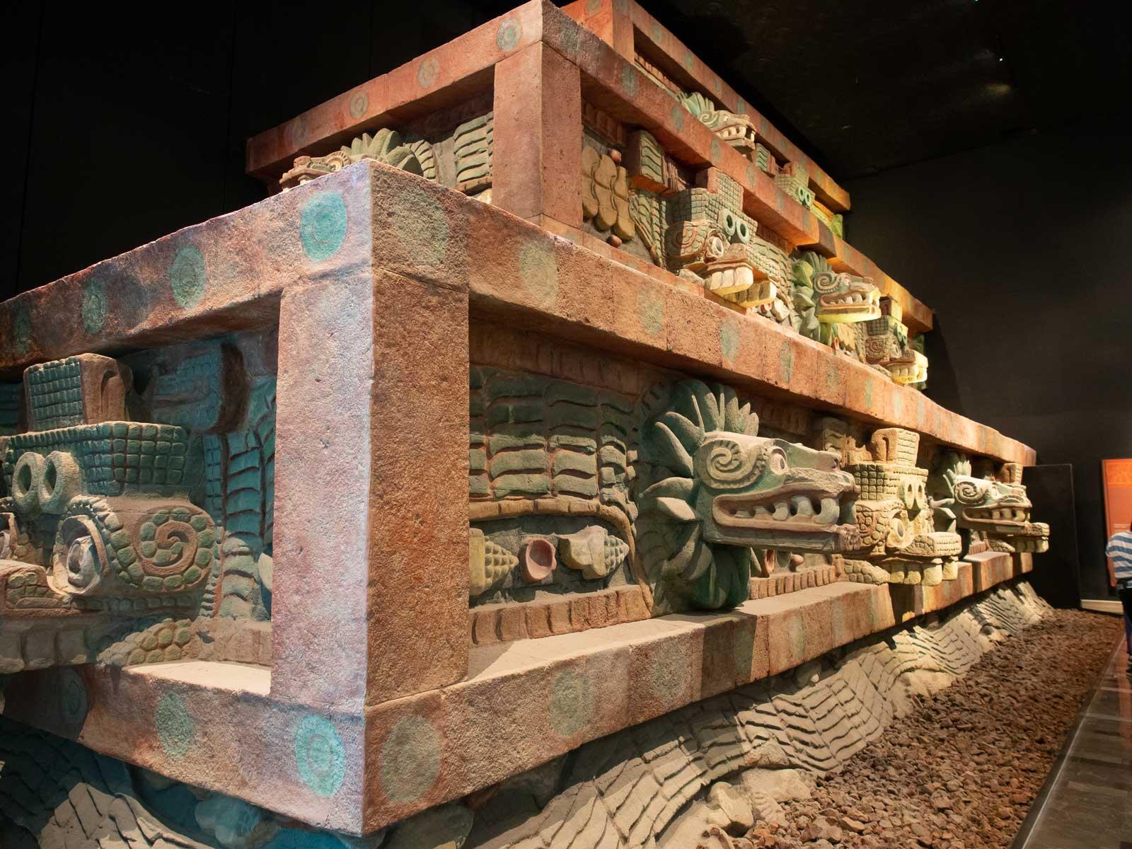Tempel der gefiederten Schlange, Teotihuacan