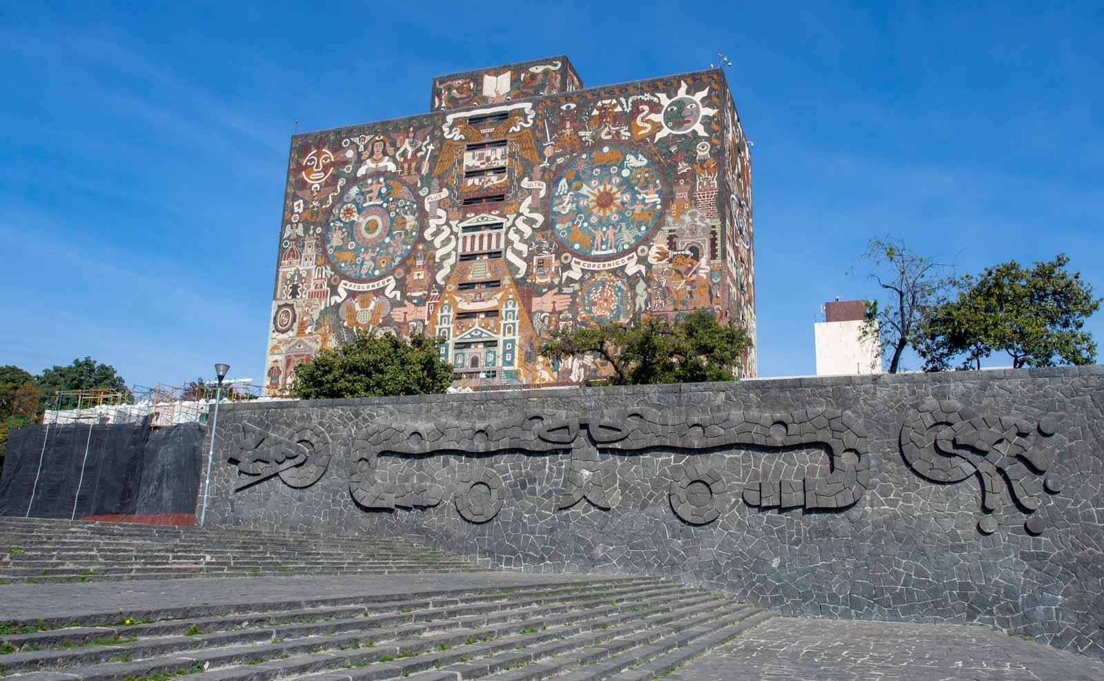 Universidad Nacional Autónoma de México – die schönste Universität in Mexiko-Stadt