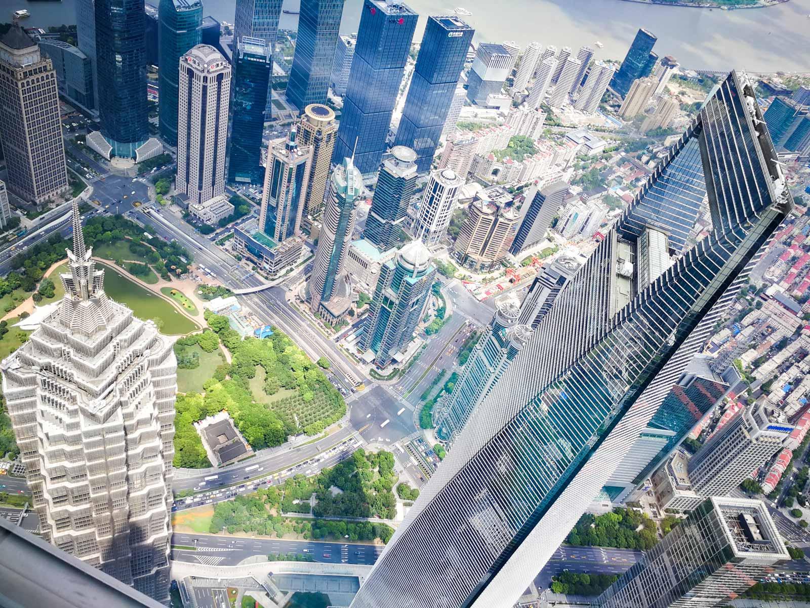 Shanghai Tower Aussichtsplattform