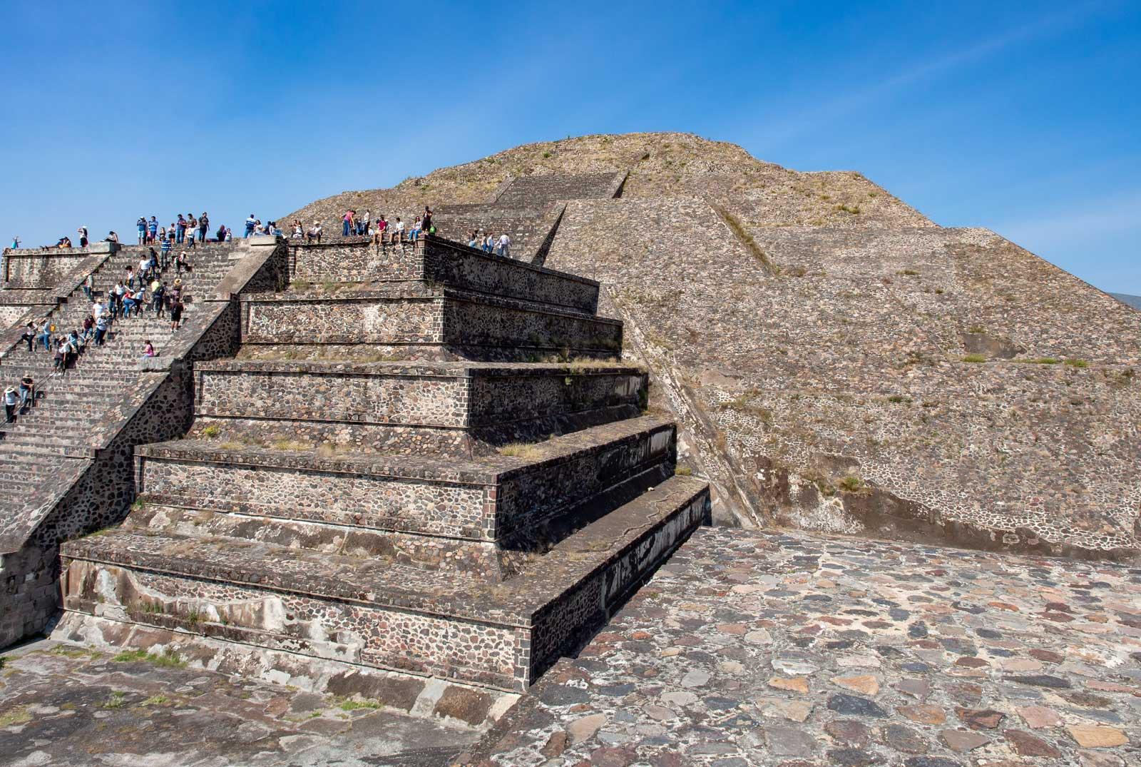 Sonnenpyramide Teotihuacán
