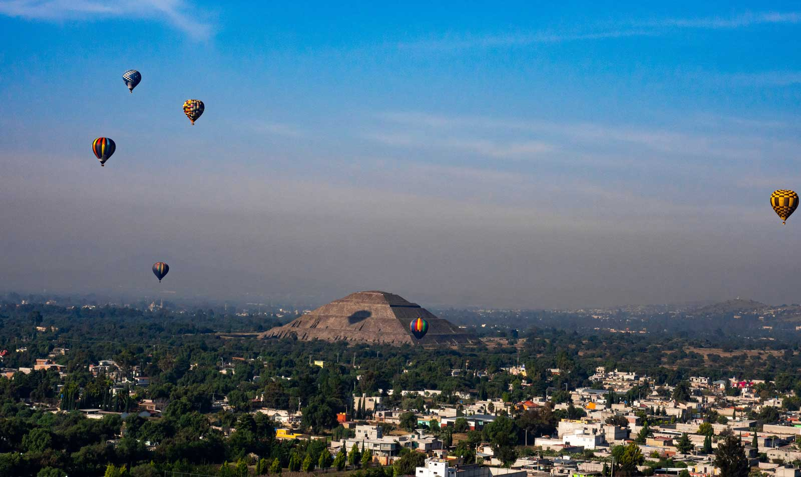 Teotihuacán Ballonfahrt